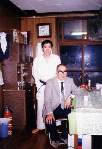 1988年10月 お父様と大内先生